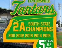 Tartar Baseball 5 Years in a Row