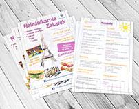 Naleśnikarnia Zakątek - Leaflet and baner