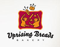 Uprising Breads Bakery Branding