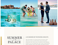 Emirates Palace hotel summer campaign