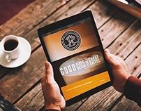 The Great Espresso Experiment (responsive website)