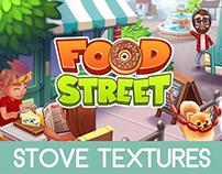 Food Street - Stove Textures