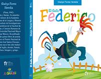 Ilustración para portada de cuento infantil