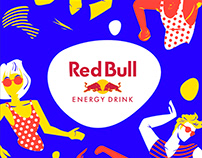 Red Bull | Cup Illustrations
