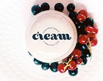 CREAM Cafe Branding