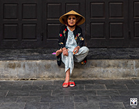 Portraits of Hoi An.