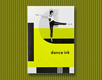 'Dance Ink' (Vol. 8, No. 2) - Editorial Design