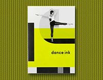 'Dance Ink' (Vol. 8, No. 2) - Editorial Design