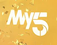 My5 TV Branding