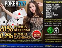 POKER757 adalah Situs permainan judi online yang terbes