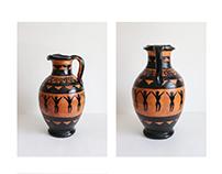 Ancient Greek Oil Flask