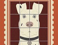 Isle Of Dogs Illustration