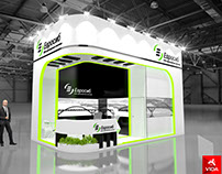 Exhibition stand for the company Eurosib