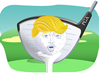 PGA Tour Moves Event From Trump Doral to Mexico