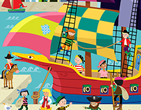 Pirate Jigsaw for ELC