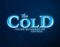 Typographic fan arts - Frozen, Mad Max, The Hobbit…