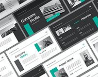 Monochrome Company Profile Presentation