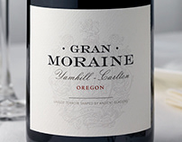 Gran Moraine (Jackson Family Wines) Packaging & Logo