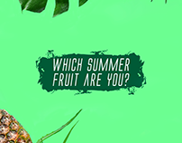 Summer Fruits Campaign