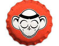 Monkey Monk - beer logo