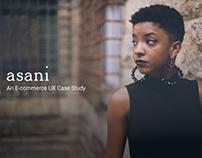 Asani- An E-commerce UX Case Study
