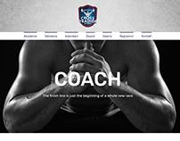 crosstraineracademy.com Web design