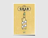 Retro posters for GrabCAD
