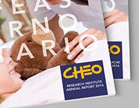 CHEO RI Annual Report