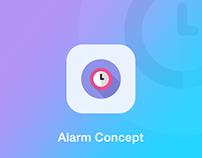 Alarm concept