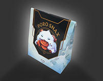 Poro Snax Packaging