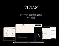 Vivian   Website design   UI/UX