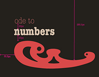 Ode to Numbers Composition Study