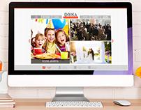 Site Drika Festas e Eventos - 2014