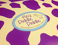 Hey Diddle Diddle Wall Art Branding