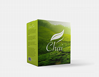 green tea box