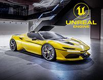 Ferrari J50   UE4   CGI