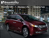 BraunAbility North America Website