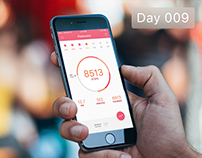 Day 009 - Material Pedometer