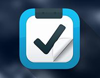 Flat IOS Icon Design.
