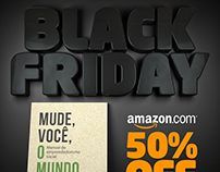 Black Friday 50% OFF Book: Mude, Você o Mundo!