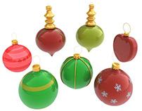 Christmas Decoration Kit 3D Model