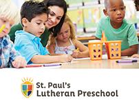 St. Paul's Lutheran Preschool | Branding
