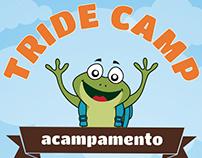 Logo marca e artes para Tride Camp - Acampamento