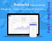 Bonavita - B2B travel order management product