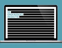 De Onderzoeks Redactie   Website concept