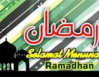 #01-Banner Spanduk Ramadhan 3mx1m Vector Masbadar 2015