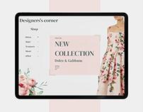 Designer's corner