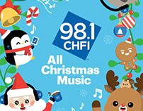 98.1 CHFI All Christmas Music Campaign