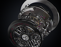 TAG HEUER CH-01 Mouvement