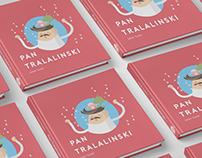 """About Mr. Tralalinski"" -illustrated book for kids"